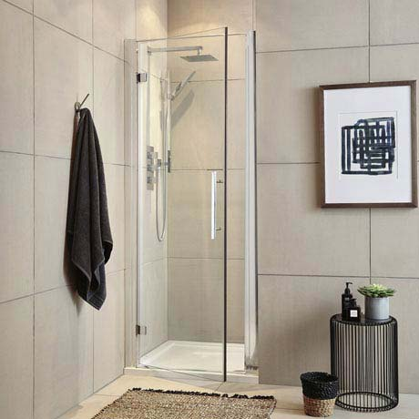 Ultra Apex Hinged Shower Door - Various Size Options