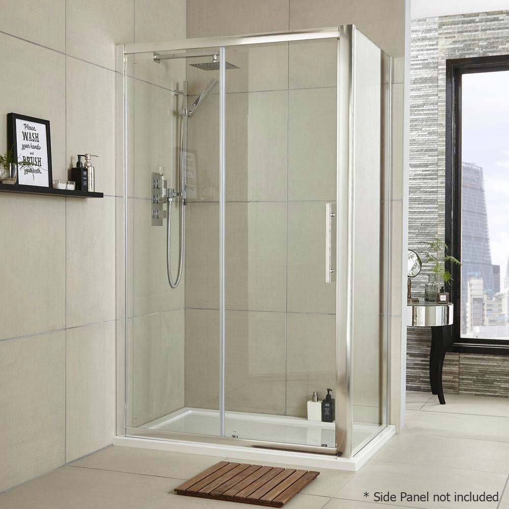 Ultra Apex Sliding Shower Door - Various Size Options profile large image view 4