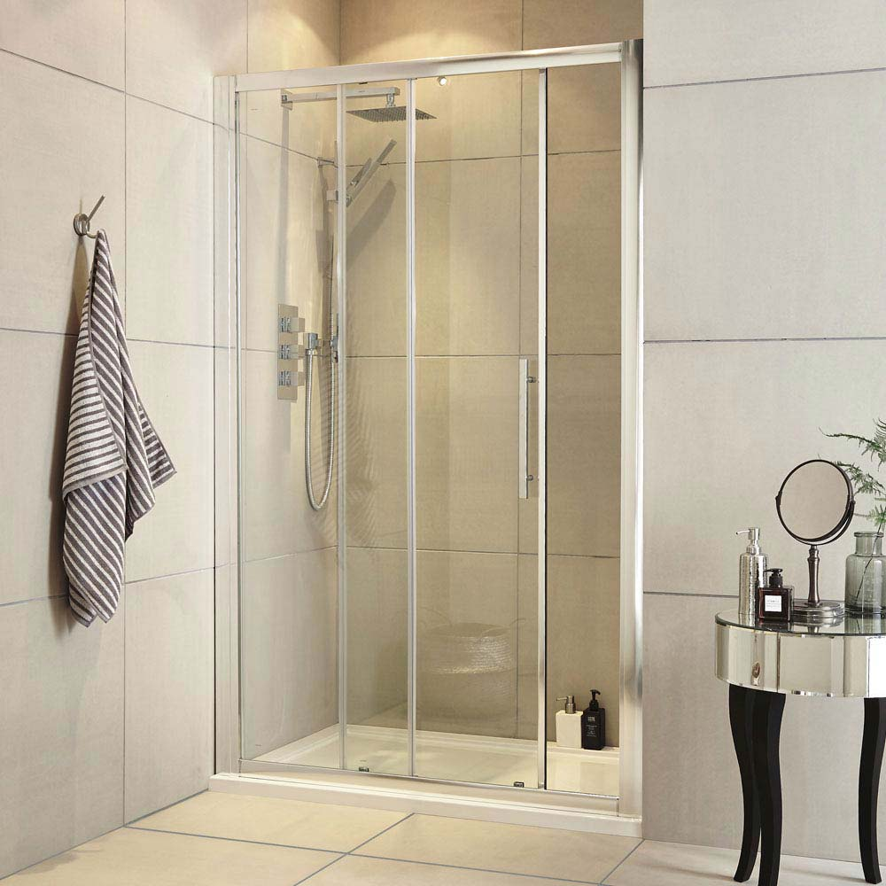 Ultra Apex Sliding Shower Door - Various Size Options Large Image