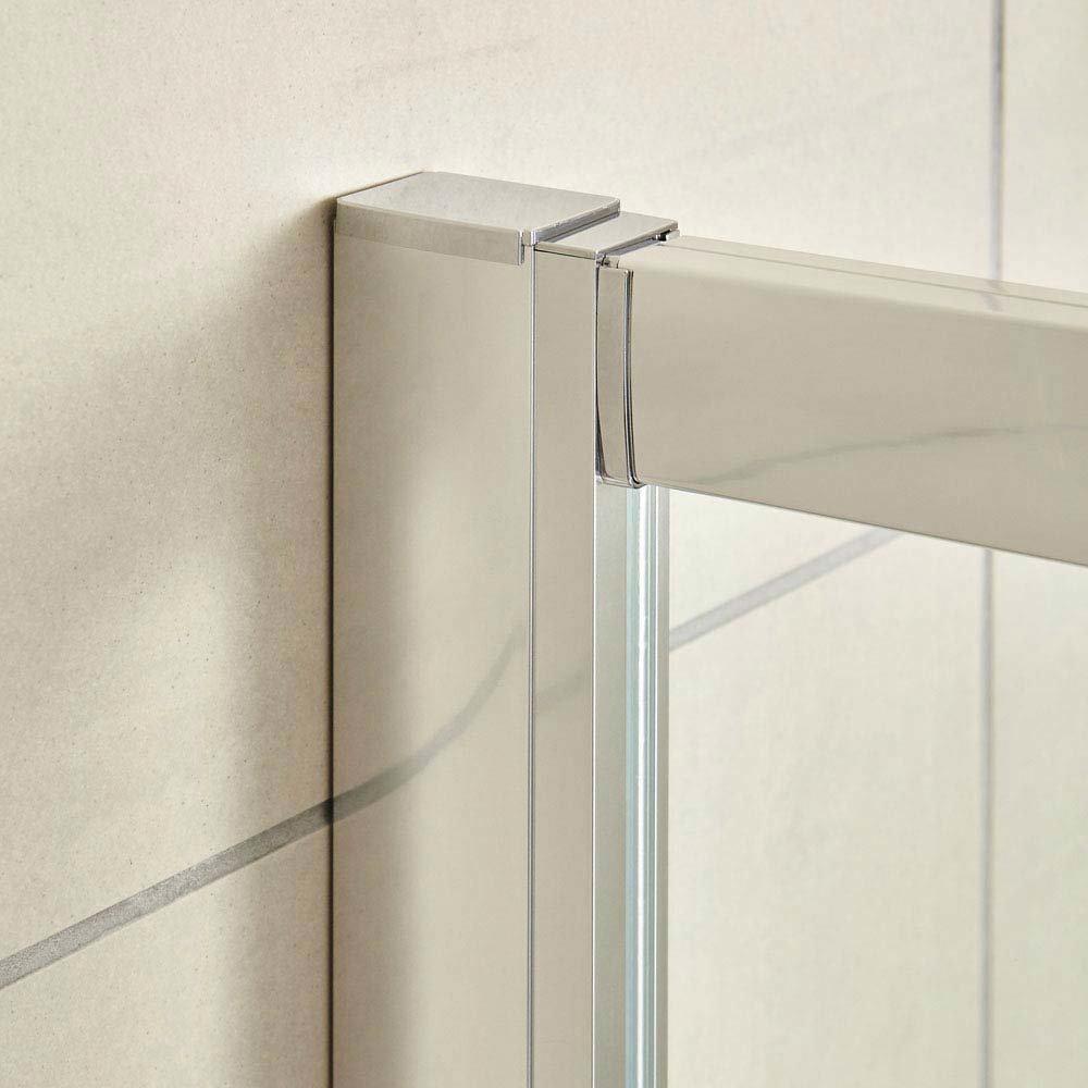 Ultra Apex Offset Quadrant Shower Enclosure - Various Size Options  Profile Large Image
