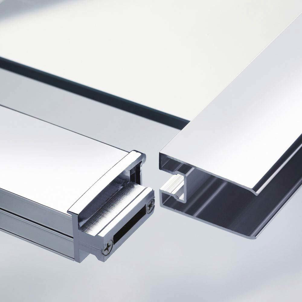 Ultra Apex Offset Quadrant Shower Enclosure - Various Size Options  Feature Large Image