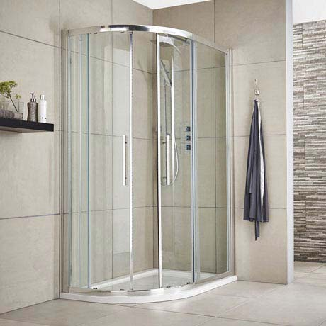 Ultra Apex Offset Quadrant Shower Enclosure - Various Size Options