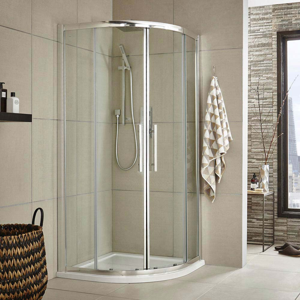 Ultra Apex Quadrant Shower Enclosure - Various Size Options Large Image