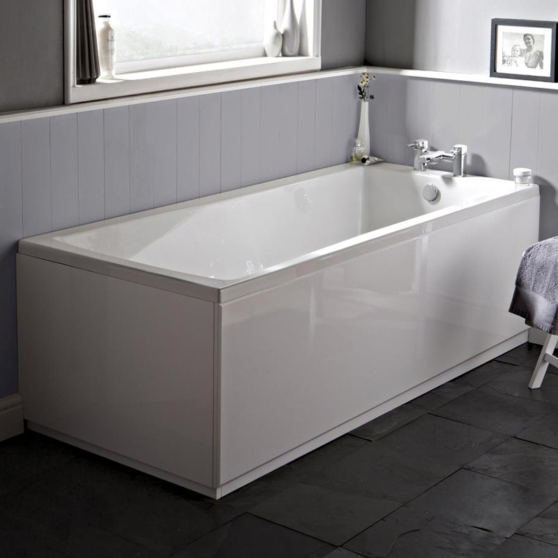 Ultra Beacon Eternalite Square Single Ended Bath & Legset - Various Size Options profile large image view 2