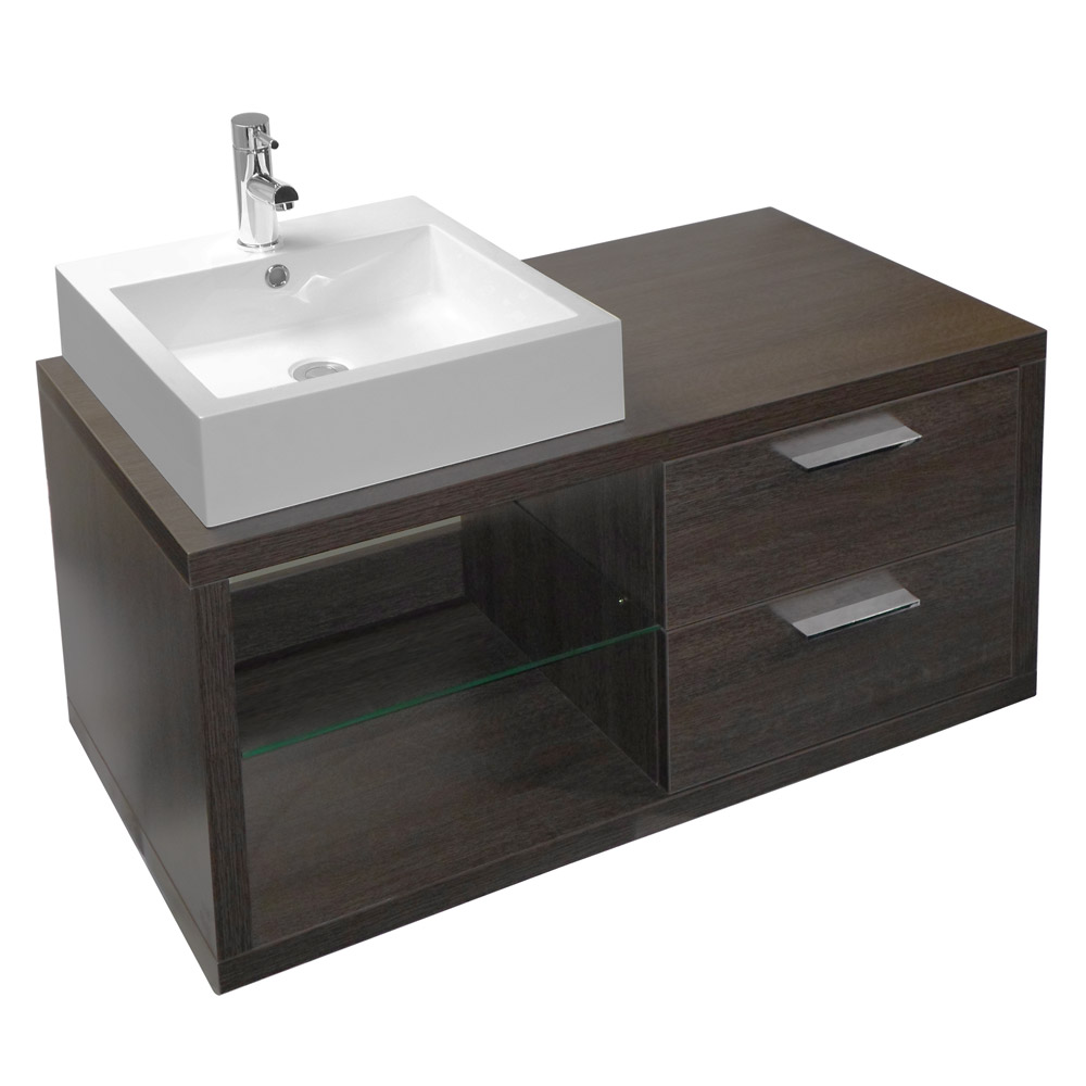 Ultra Boutique Basin and Cabinet - Oak Finish - RF004 at Victorian ...