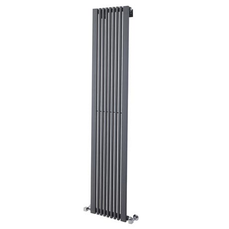 Ultra - Carson Anthracite Designer Radiator - W370 x H1800mm - HLA105