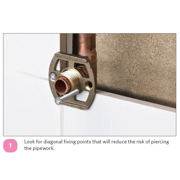 Ultra Chrome Wall Mounted Fixings - A315 Profile Large Image