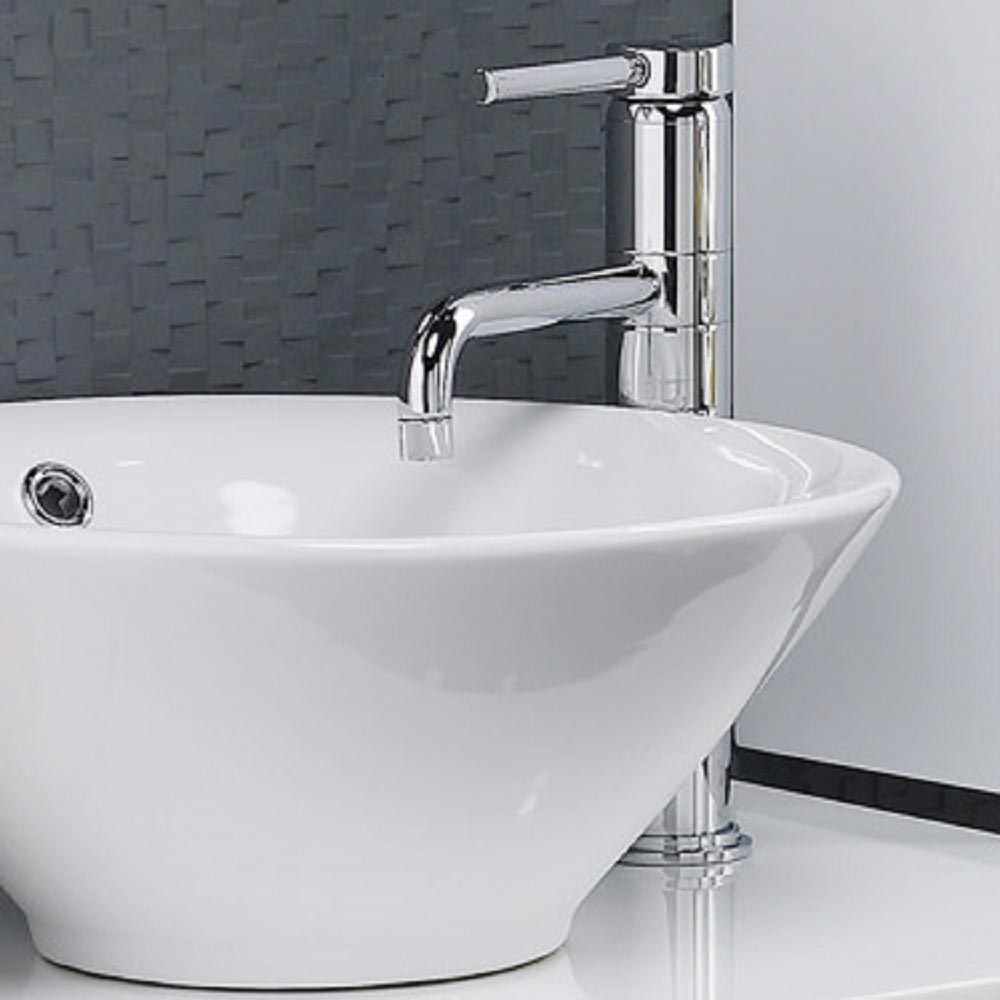 Ultra Single Lever High Rise Mixer Tap with Swivel Spout - PK370 Profile Large Image