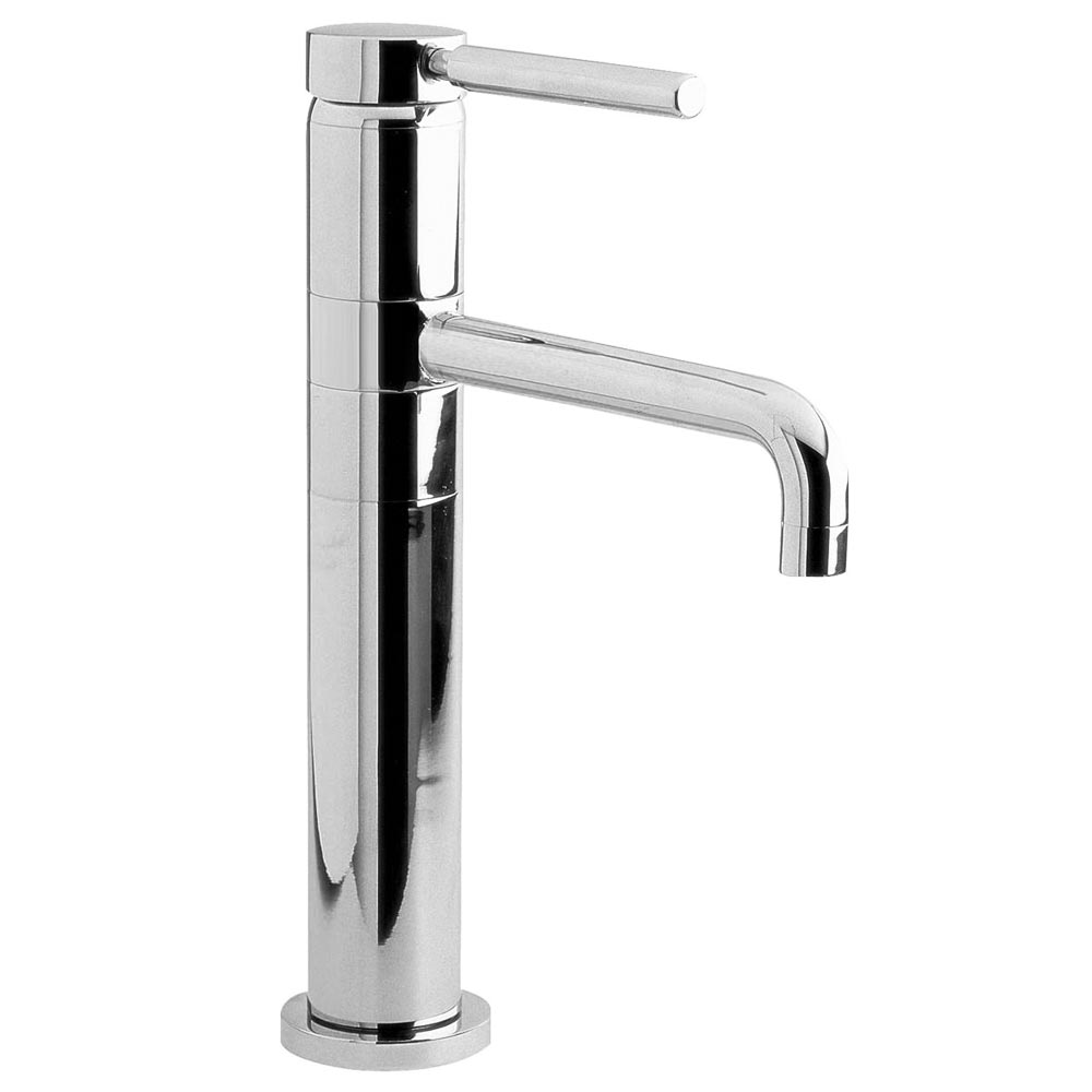 Ultra Single Lever High Rise Mixer Tap with Swivel Spout - PK370 Large Image