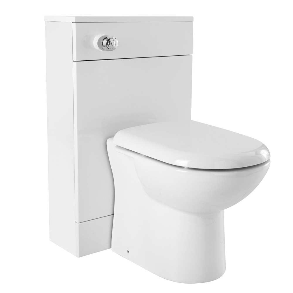 Ultra Design White BTW Toilet Unit Inc. Cistern + Soft Close Seat Large Image