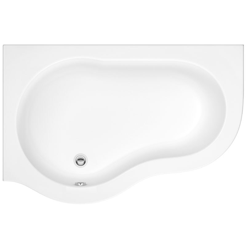 Ultra Estuary Corner Bath with Panel & Legset - Left Hand profile large image view 2