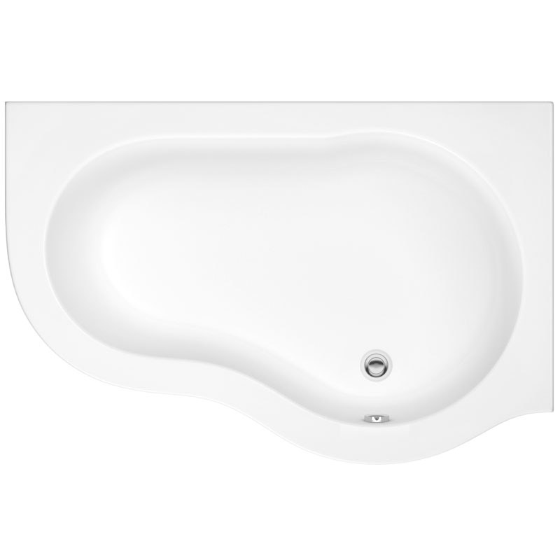 Ultra Estuary Corner Bath with Panel & Legset - Right Hand profile large image view 2