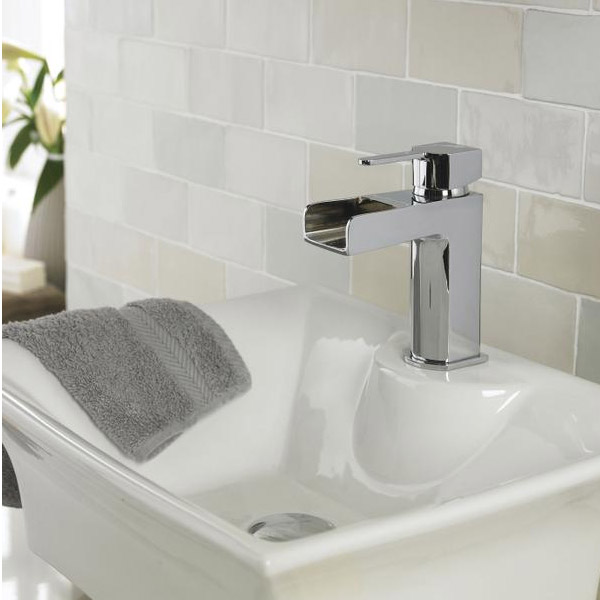 Ultra Falls Open Spout Mono Basin Mixer without Waste - FAL315 Feature Large Image