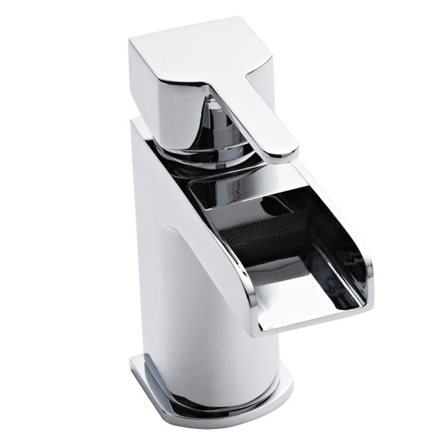Ultra Falls Open Spout Mono Basin Mixer without Waste - FAL315 Large Image