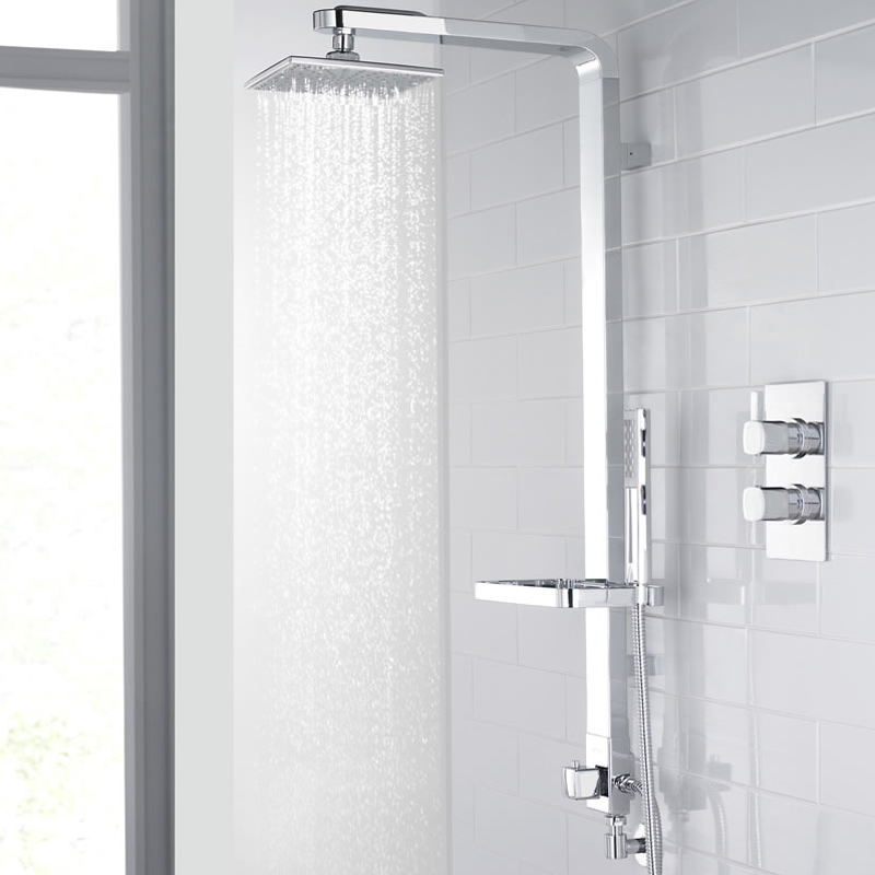 Ultra Intuition Shower Kit - Chrome - A3029 Profile Large Image