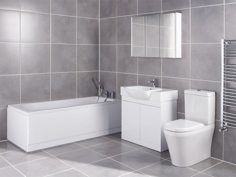 Lux Bathroom Suite At Victorian Plumbing UK