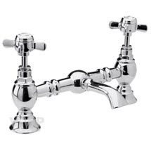 Ultra Luxury Beaumont Bridge Basin Mixer - Chrome - I315X Medium Image
