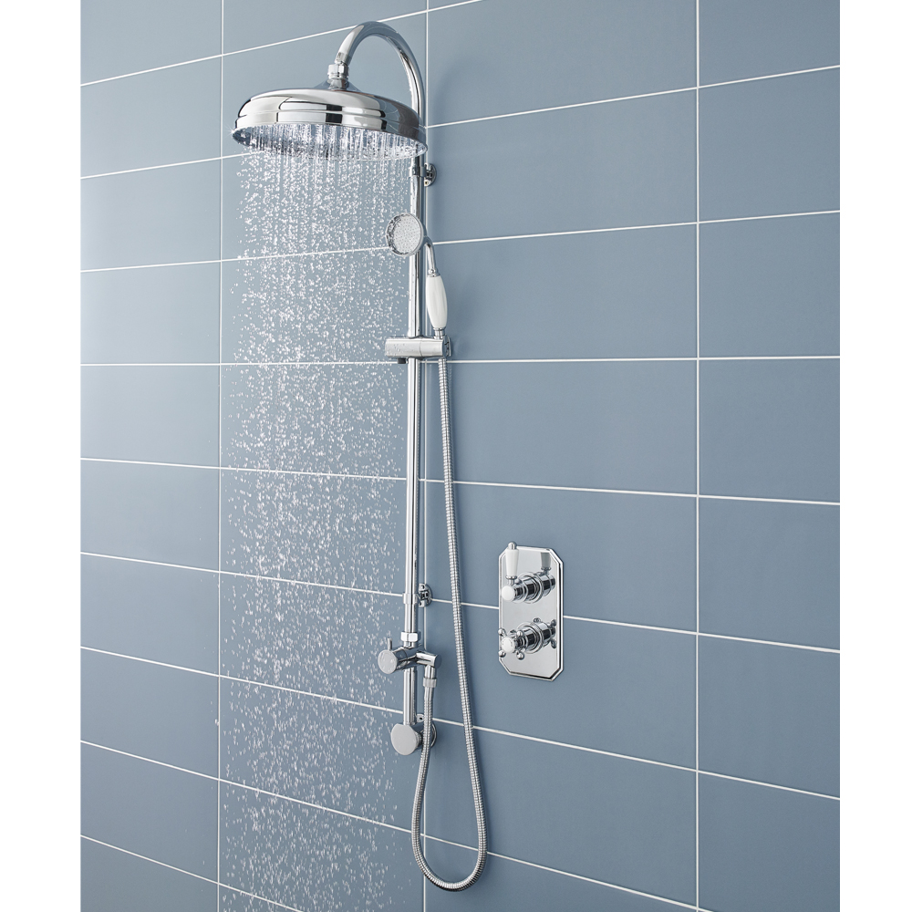 Ultra Luxury Traditional Rigid Riser with Concealed Elbow profile large image view 2