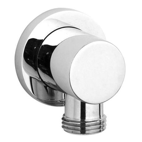 Ultra Minimalist Chrome Plated Brass Outlet Elbow - A3275