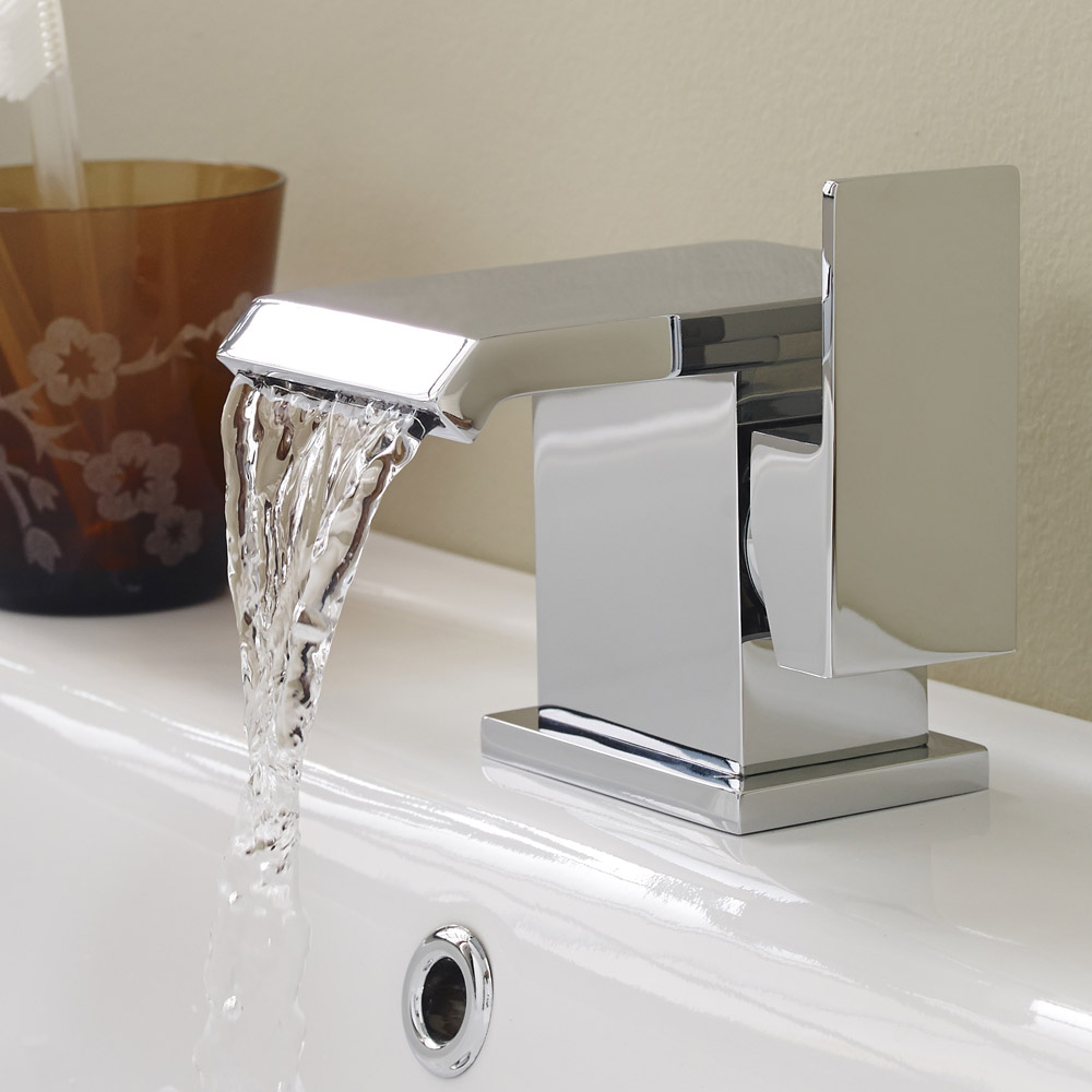 Ultra - Minimalist Side Action Mono Basin Mixer - TMI305 Feature Large Image