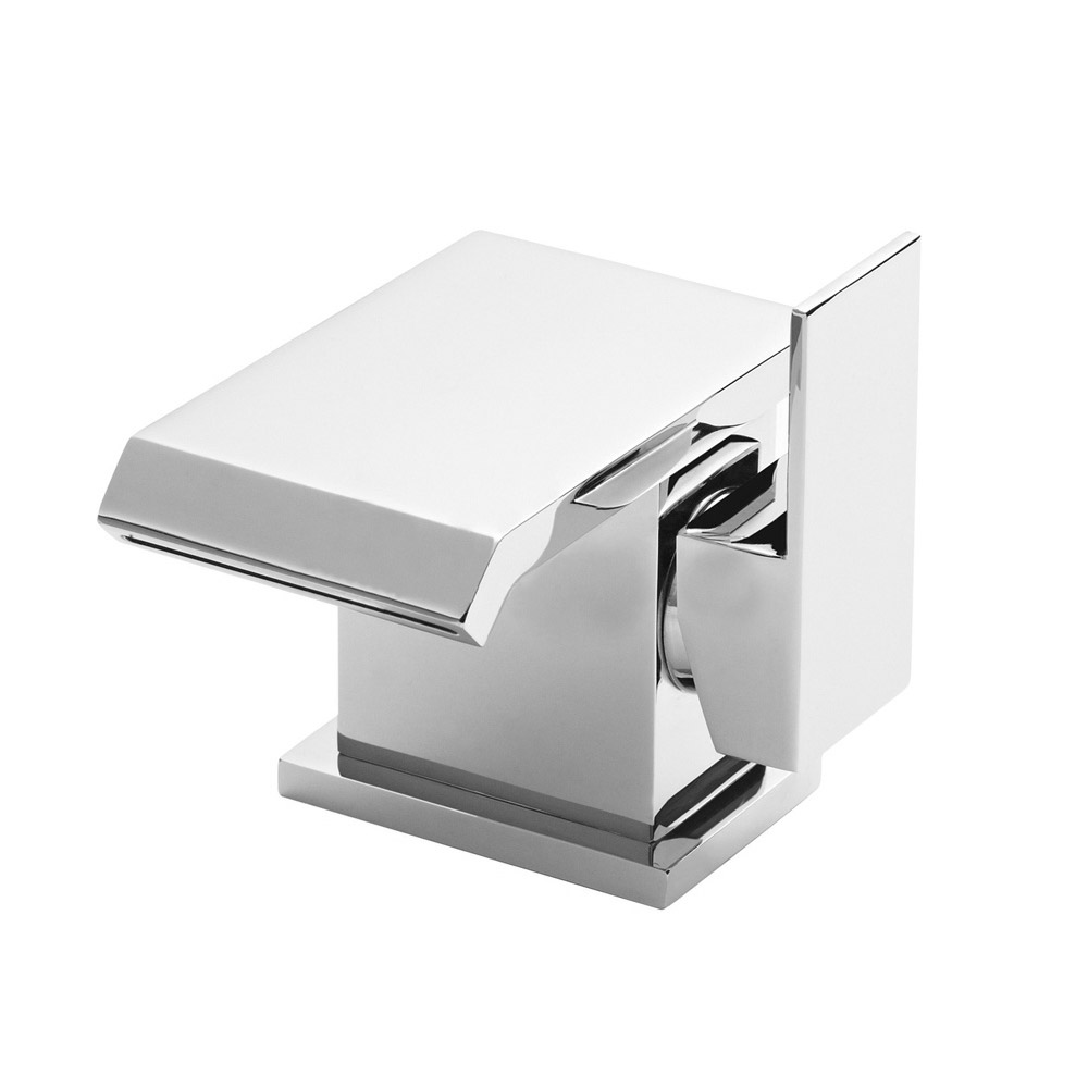 Ultra - Minimalist Side Action Mono Basin Mixer - TMI305 profile large image view 1