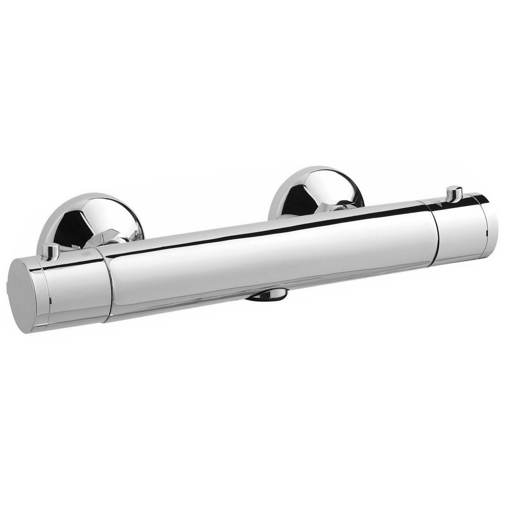 Ultra Minimalist Thermostatic Bar Valve - Bottom Outlet - Chrome - A3906 Large Image
