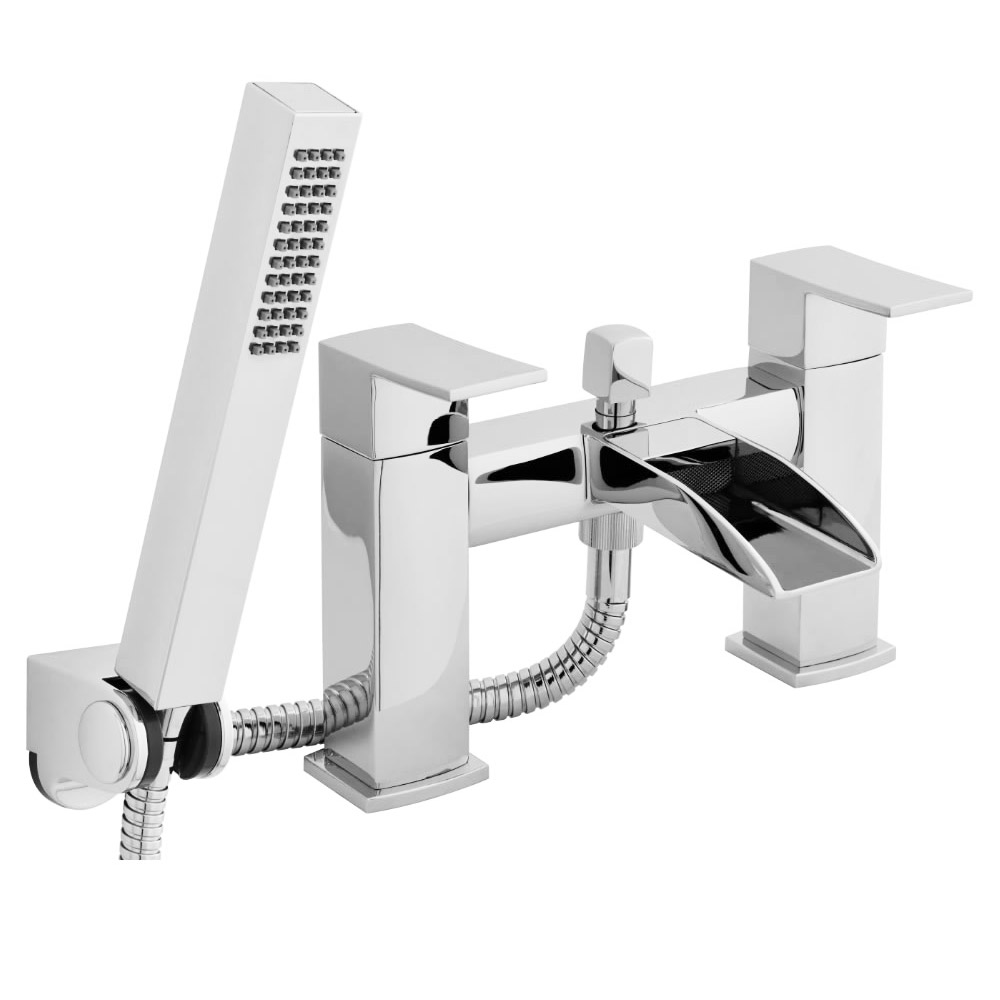 Ultra Moat Bath Shower Mixer with Shower Kit - TAT304 Large Image