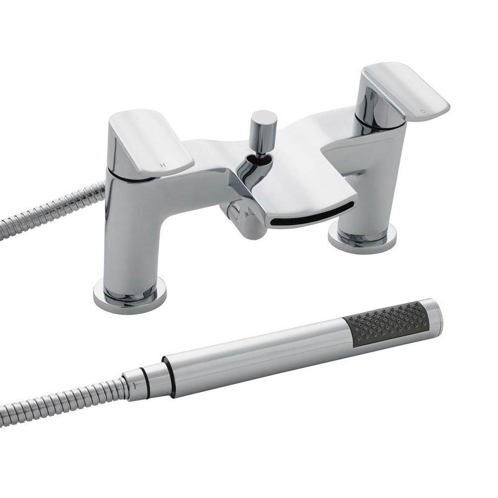 Ultra Mona Bath Shower Mixer Tap + Shower Kit - TMO354 Large Image
