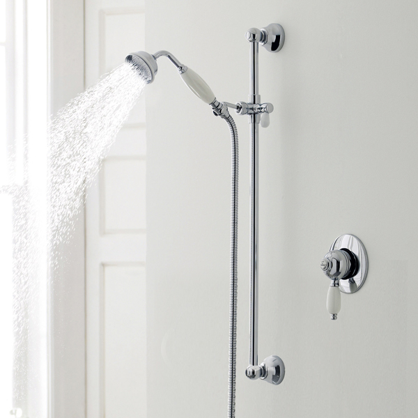 Ultra Nostalgic Concealed Manual Mixer Shower Valve profile large image view 2