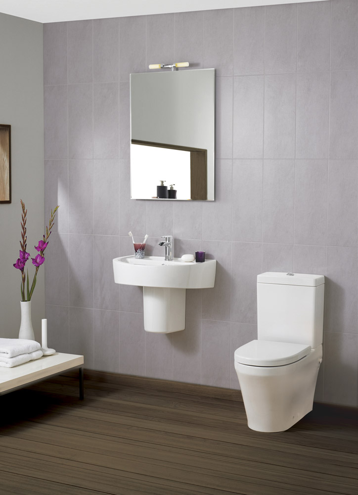 Ultra - Priory 4 Piece 1TH Cloakroom Suite Large Image