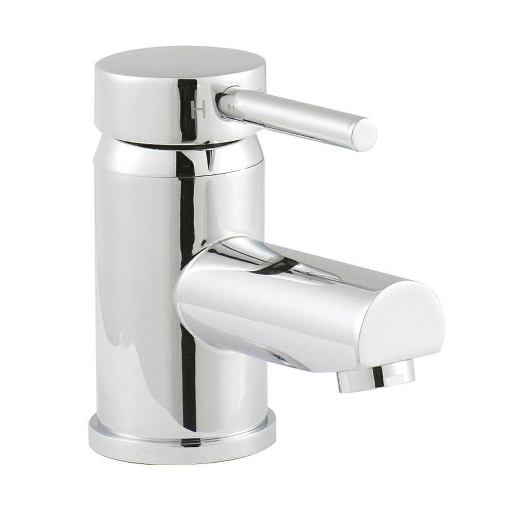 Ultra Quest Series FII Eco-Click Mono Basin Mixer Tap Inc. Waste profile large image view 1