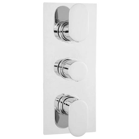 Ultra Ratio Concealed Thermostatic Triple Shower Valve - RATV53