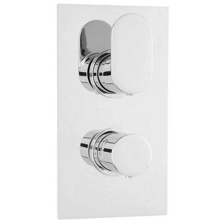 Ultra Ratio Concealed Twin Shower Valve with Built-in Diverter - RATV52