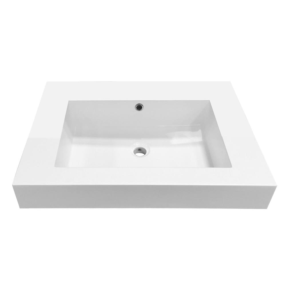 Ultra Relax 690x480mm Inset Basin Profile Large Image