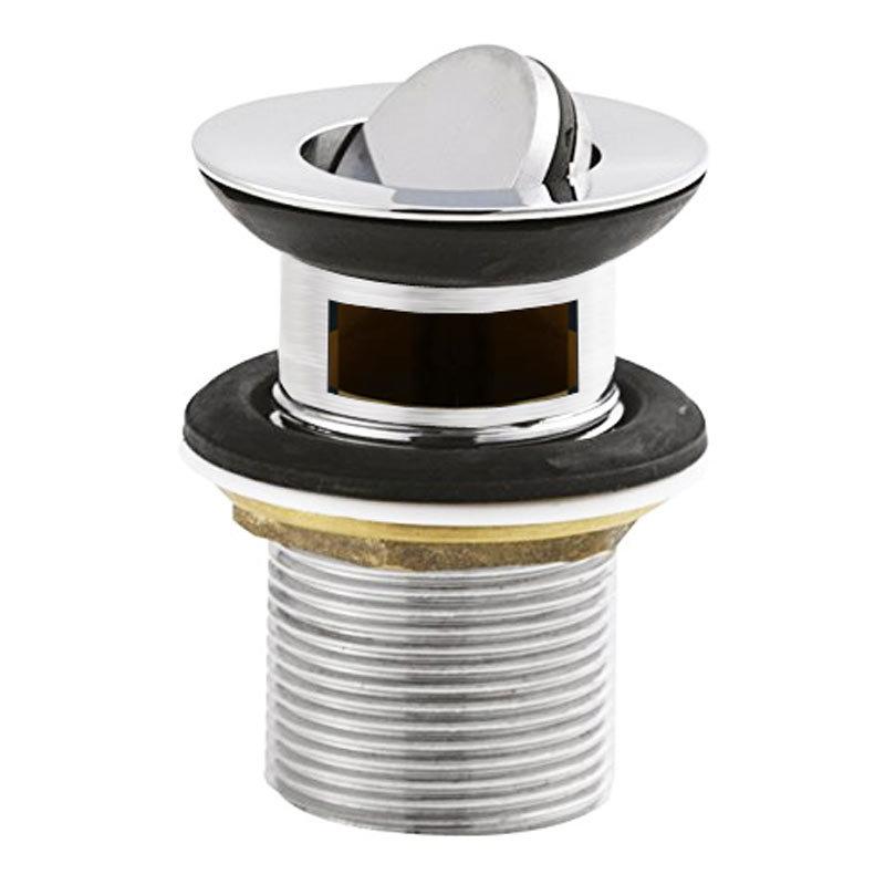 Ultra Slotted Flip Top Basin Waste - Chrome - ER03 Large Image