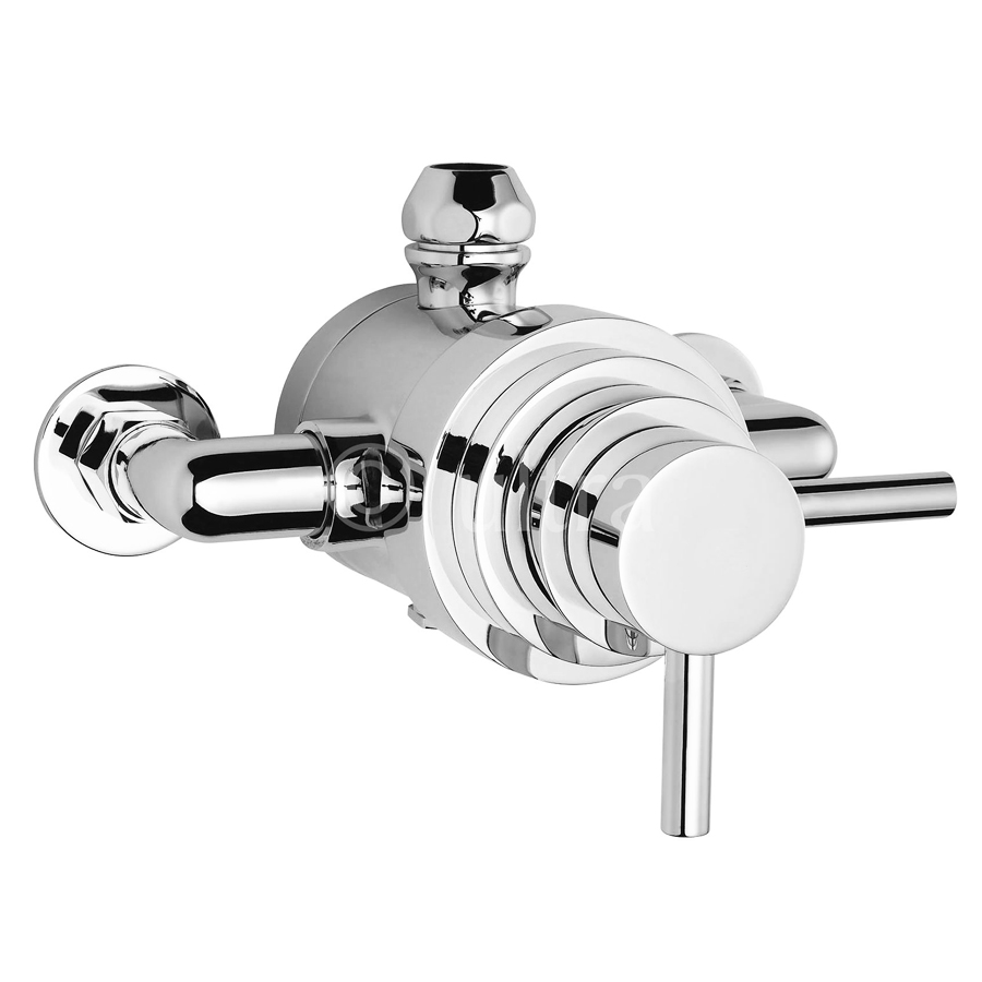 Ultra Spirit Exposed Dual Thermostatic Shower Valve - A3095E Large Image