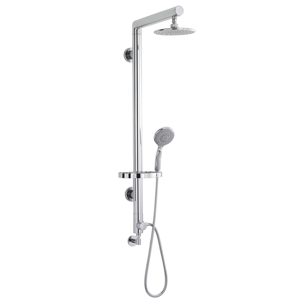 Ultra Syndicate Rigid Riser Shower Kit with Diverter - A3317 at ...