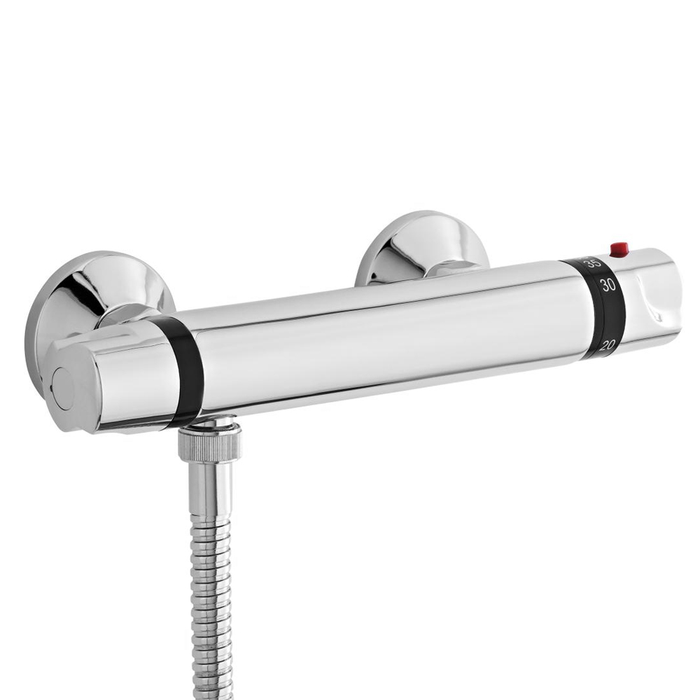 Ultra - Thermostatic Bar Shower Valve - Bottom Outlet - VBS007 at ...