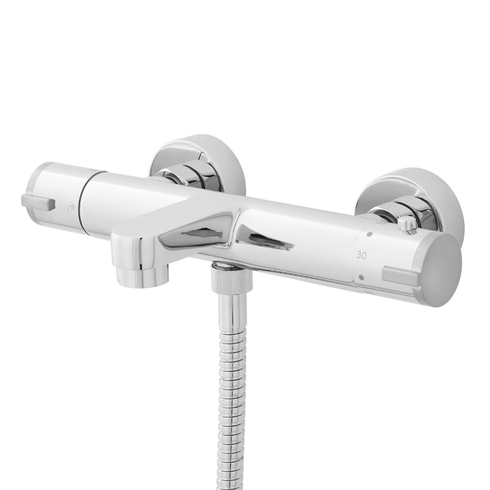 Ultra - Thermostatic Wall Mounted Bath Shower Mixer - VBS021 Large Image