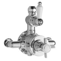 Ultra Traditional Twin Exposed Thermostatic Shower Valve - A3056 Medium Image