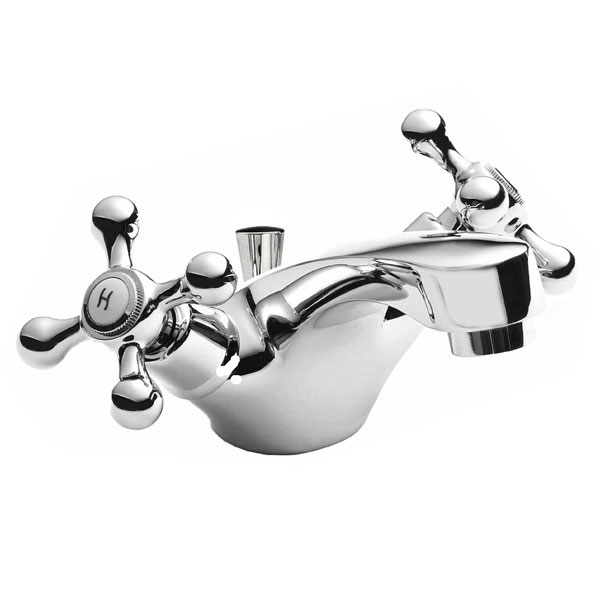 Ultra Viscount Range Mono Basin Mixer Tap Inc. Pop Up Waste - X385 Large Image