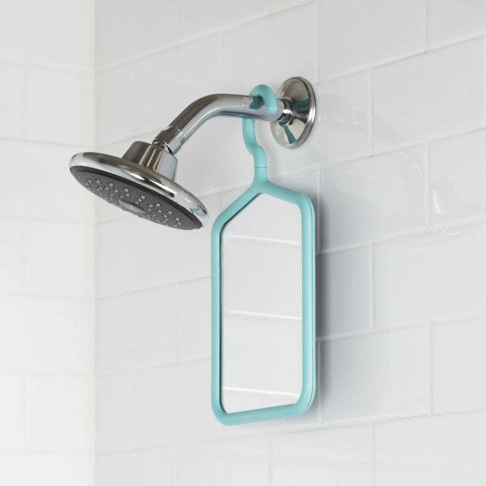 Umbra anti fog hanger mirror surf blue 023268 276 at for Miroir umbra