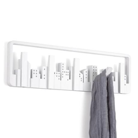 Umbra - Skyline Wall-Mount Multi-Hook - White - 318190-660