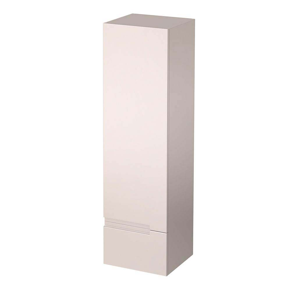 Urban 400mm Wall Hung Tall Unit - Cashmere Large Image