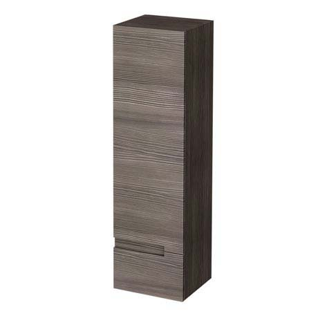 Urban 400mm Wall Hung Tall Unit - Grey Avola