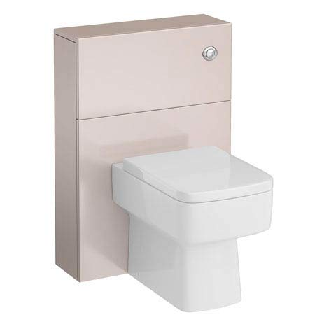 Urban Compact 600x220mm WC Unit - Cashmere
