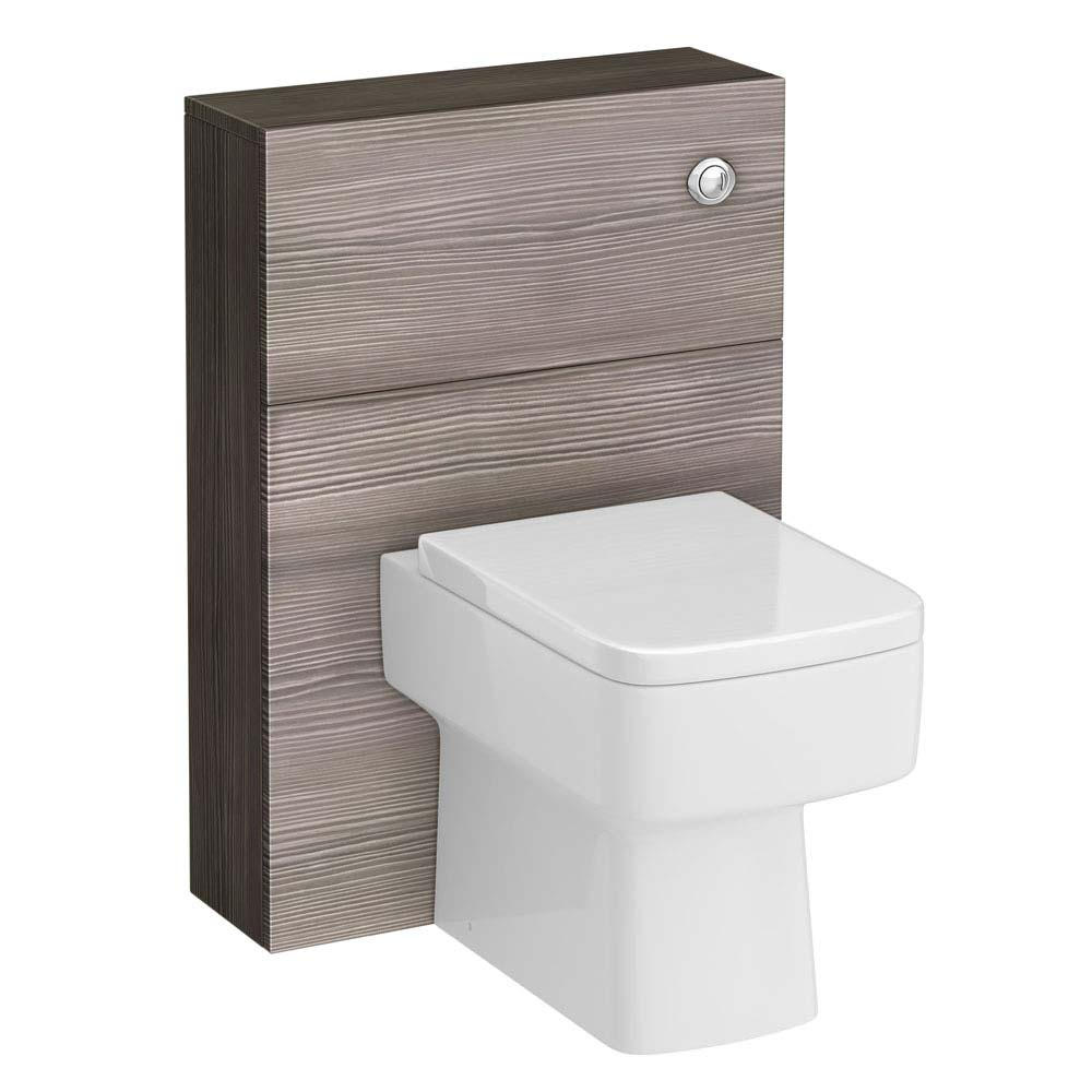 Urban Compact 600x220mm WC Unit - Grey Avola Large Image