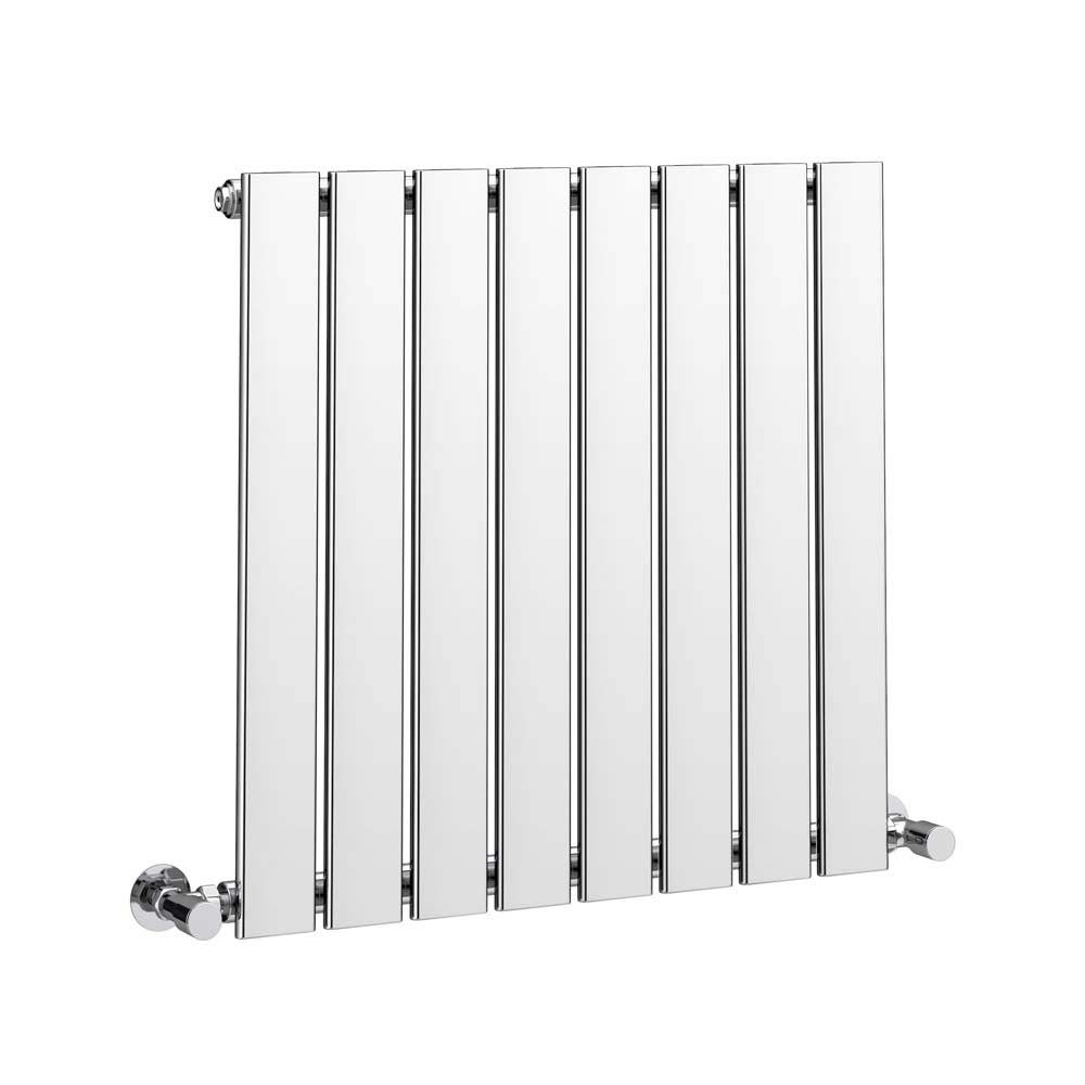 Urban Horizontal Radiator - Chrome - Single Panel (H600xW604mm) profile large image view 2