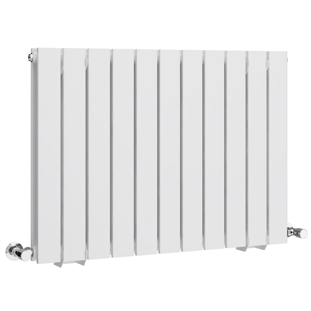 Urban Horizontal Radiator - White - Double Panel (600mm High)