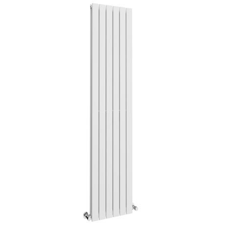 Urban Vertical Radiator - White - Double Panel (1800x354mm)